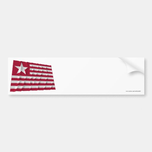 Long's Expedition Flag Bumper Stickers