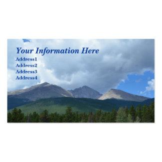 Longs Peak, Rocky Mountain Nat. Park Business Card