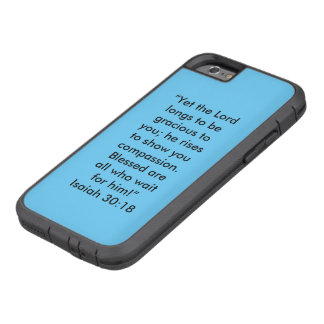 """""""Longs to be gracious to You"""" Cell Phone Case"""