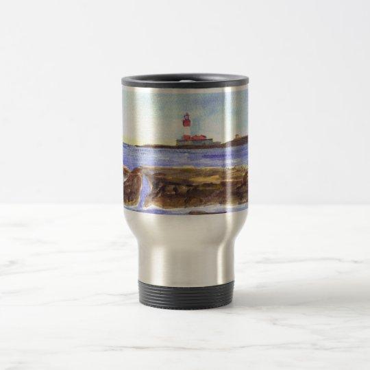 Longstone Island travel mug