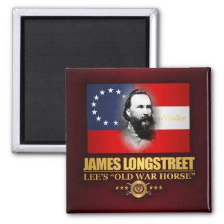 Longstreet (Southern Patriot) Square Magnet
