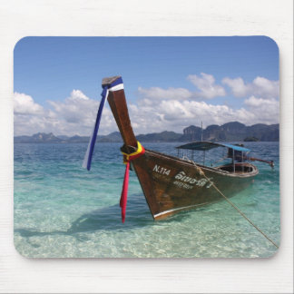Longtail Boat - Thailand Mousepad