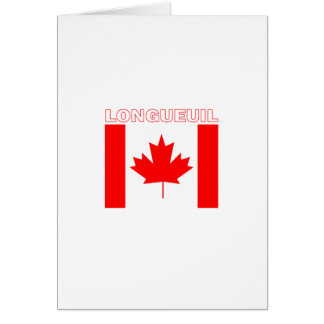 Longueuil Quebec Card