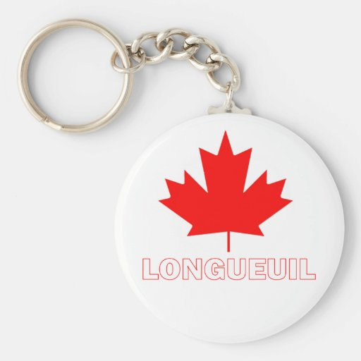 Longueuil, Quebec Keychain