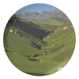 Longwall, Giant's Castle, Drakensberg Mountains, Plate