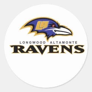Longwood Altamonte Ravens Team Store Round Sticker