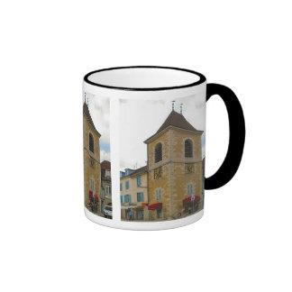 Lons le Saunier, clocktower Ringer Mug