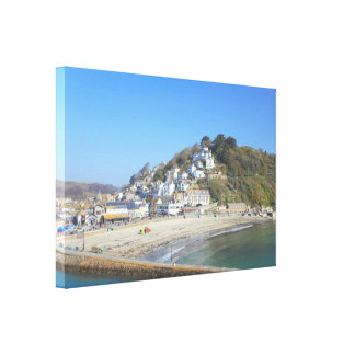 Looe in Cornwall Canvas Print