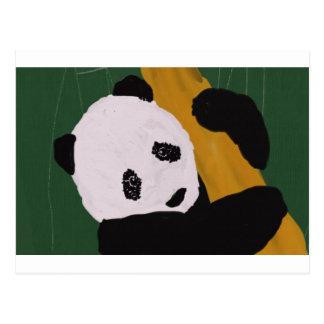 Look A Panda! Postcard