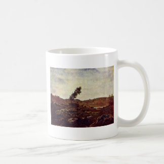 Look At Barbizon By Rousseau Théodore Mug