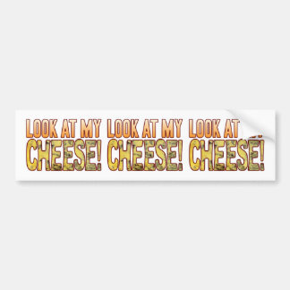 Look At Blue Cheese Bumper Sticker