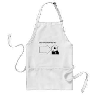 look at me adult apron