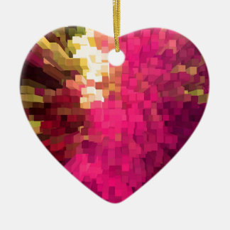 Look at my colours ceramic heart decoration