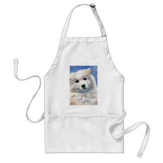 Look At That Face Puppy Apron