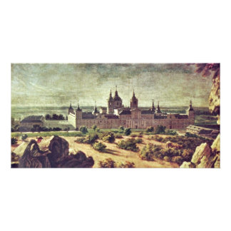 Look At The Escorial Monastery By Houasse Michel-A Picture Card