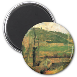 Look at the Sainte-Marguerite - Paul Gauguin 6 Cm Round Magnet