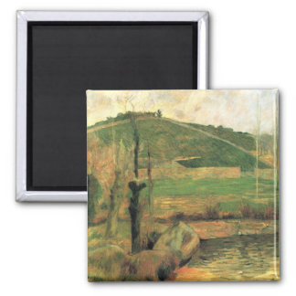 Look at the Sainte-Marguerite - Paul Gauguin Square Magnet