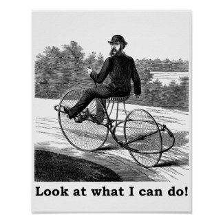 Look at what I can do! Poster