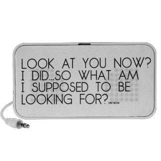 """""""Look at you now..."""" Notebook Speaker"""
