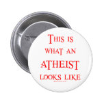 Look! Atheist! Buttons