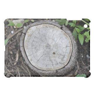 Look Closely Cut Wood Texture iPad Mini Covers
