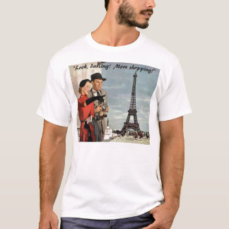 """Look, darling!  More Shopping!"" T-Shirt"