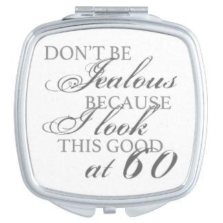 Look Good 60th Birthday Makeup Mirror