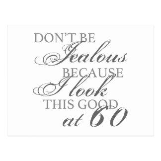 Look Good 60th Birthday Postcard