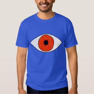 Look. It's An Eye Of Orange Color. It Has Power. T Shirt