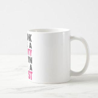 Look Like A Beauty Train Like A Beast Coffee Mug