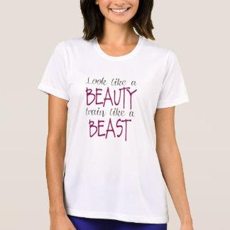 Look Like a Beauty, Train Like a Beast Tshirts