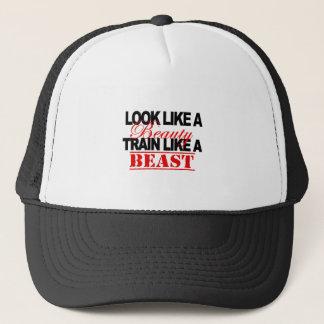 Look like a beauty trucker hat