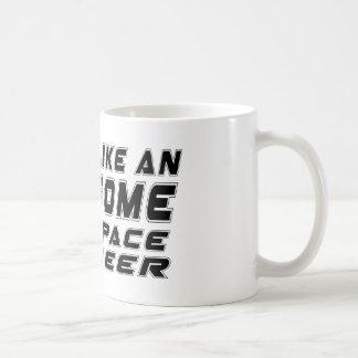 Look Like An Awesome Aerospace engineer Basic White Mug