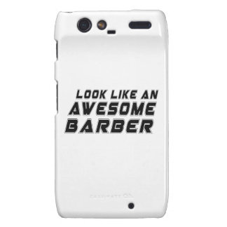 Look Like An Awesome Barber Droid RAZR Covers