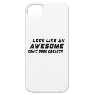 Look Like An Awesome Comic book creator Barely There iPhone 5 Case