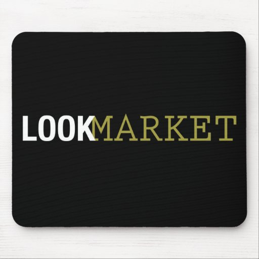 Look Market Mouse Pad
