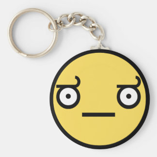 Look of Disapproval Keychain