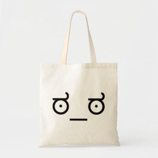 Look of Disapproval Meme Budget Tote Bag