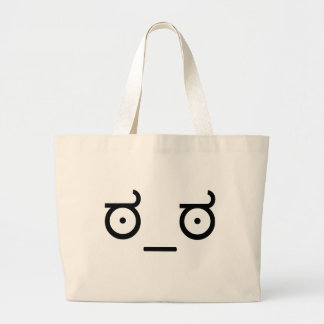 Look of Disapproval Meme Jumbo Tote Bag