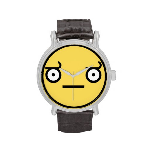 Look of Disapproval Wristwatch