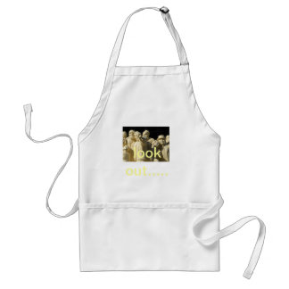 look out... standard apron