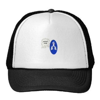 Look Right and Left on the road Trucker Hats