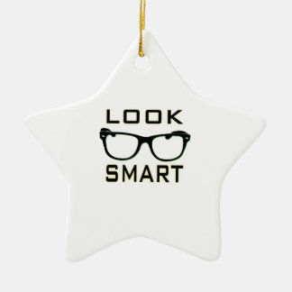 Look Smart Christmas Ornament