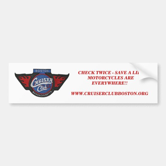 Look Twice!!  CCB Bumper Sticker - Customised
