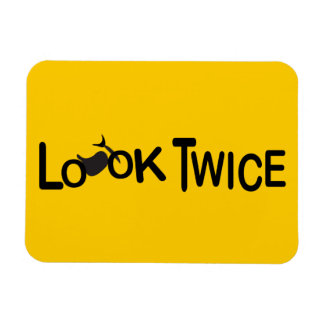 Look Twice for Motorcycles Magnet