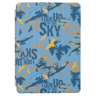 Look, up in the sky in blue iPad air cover