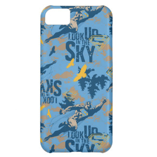 Look, up in the sky in blue iPhone 5C case