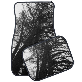 look up in the trees car mat