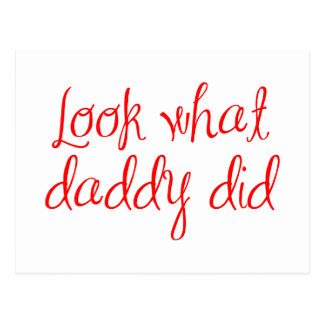 look-what-daddy-did-ma-red.png postcard