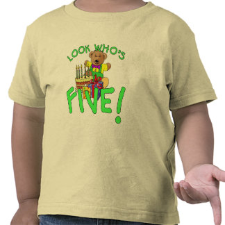 Look Who s Five Years Old Tshirt
